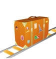 Suitcase concept vector image
