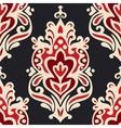 Luxury Damask seamles vector image