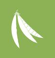 Green Pea Icon vector image