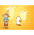 Halloween Ghosts vector image