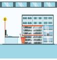 supermarket concept design vector image