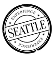 Seattle stamp rubber grunge vector image