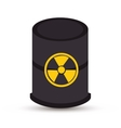 atomic industry isolated icon vector image