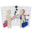 Implications for Business brexit Britain and vector image