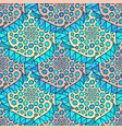 ornamental arabic pattern abstract mosaic vector image
