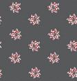 stylized decorative pointsettia christmas seamless vector image vector image