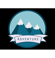 Trip to the mountains vector image