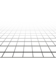 Abstract background with a perspective grid vector image
