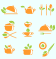 Collection of Healthy Eating vector image