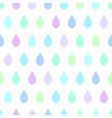 Cool Rain White Background vector image