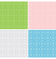 set of geometric patterns for background vector image