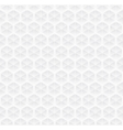 geometric white pattern vector image vector image