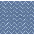 Ikat Chevron Seamless Pattern vector image vector image