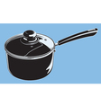 stove pot vector image
