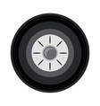 car tire icon image vector image