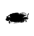 Grunge background brush stroke vector image vector image