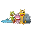 Monster characters vector image