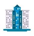 tall building icon vector image