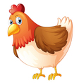 A mother hen vector image