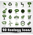 Eco icons set Use for business vector image vector image