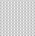 Grey geometric intricate seamless pattern vector image vector image
