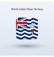 British Indian Ocean Territory flag icon vector image