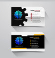 business name card vector image