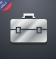 suitcase icon symbol 3D style Trendy modern design vector image