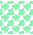 Watercolor abstract seamless pattern on the white vector image