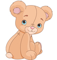 Sitting Teddy Bear vector image