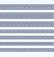 greek pattern border - grecian ornament vector image