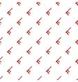 Red paintball gun pattern cartoon style vector image