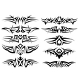 tribal tattoo vector image