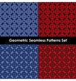 Geometric seamless patterns EPS 10 vector image