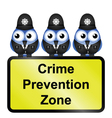 CRIME ZONE UK vector image vector image