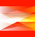 orange and gray triangle abstract background vector image