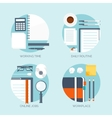 Workplace Office Daily vector image