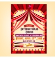 Circus Poster entrance vector image
