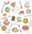 cake lovers background vector image