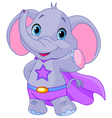 Super Elephant vector image vector image