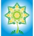 Decorative ornamental fairy tree vector image