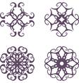 Vintage symbols vector image