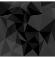 Dark flat triangle background or seamless pattern vector image