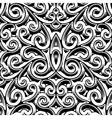 Vintage swirly pattern vector image