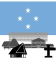 Federated States of Micronesia vector image
