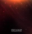 orange lights sky background vector image