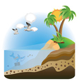 Treasure Island2 vector image