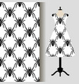 womens dress fabric pattern with spiders vector image