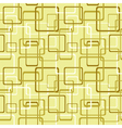 Seamless pattern with square and rectangle shapes vector image