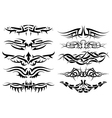 tribal tattoo vector image vector image